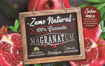 Zumo de granada Magranatum, próximamente…